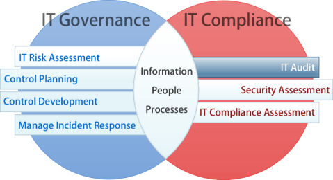 IT Audit Diagram